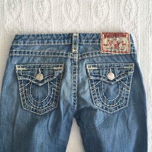 True Religion Joey Super T flare leg jeans. Sz 29